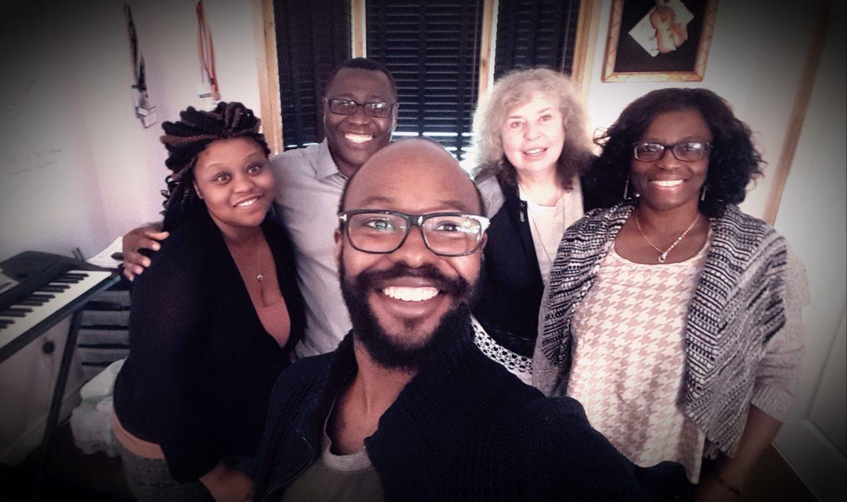 Gospel Osei-Tutu and Family 1