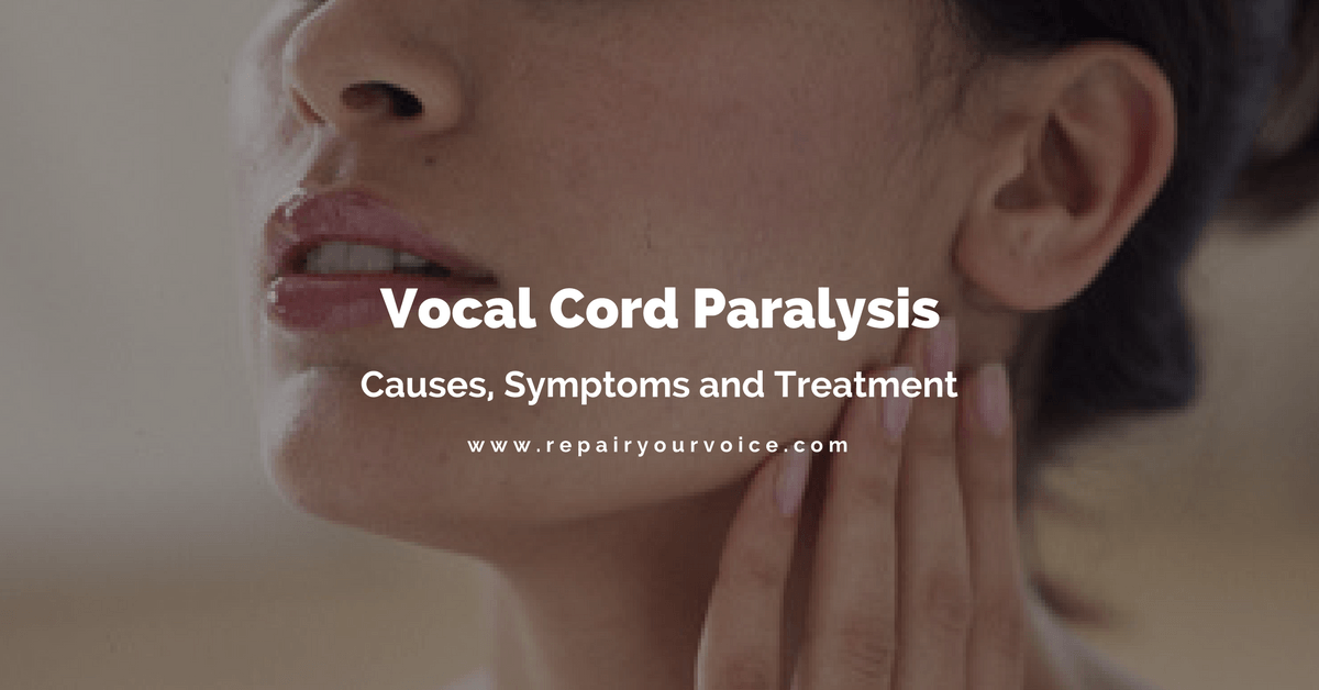 What are the causes and available treatment methods for vocal paralysis?