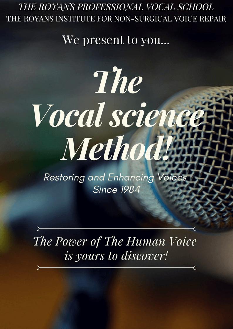Vocal Science Flyer