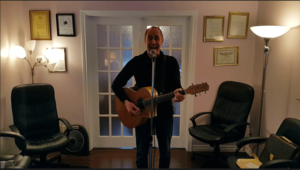 Post-Course Letter from voice repair client, singer/songwriter, Jon S.