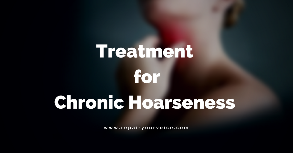 Information on how we treat Chronic Voice Hoarseness, Constant Throat Clearing, and Sore Throats!
