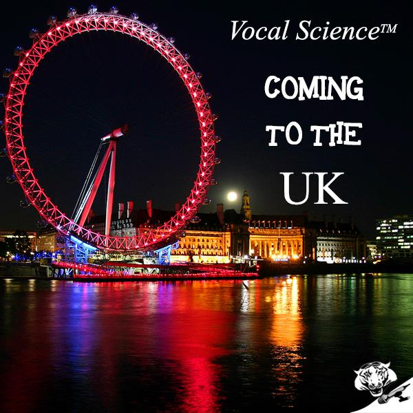 Vocal Science™ Coming to the UK – From Sept 16th to Sept 23rd!
