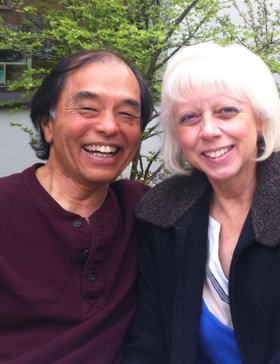 Michael and Raphaelle Tamura - Celebrated Spiritual Teachers, Mentors, Radio Announcers, Clairvoyant Visionaries - from Sacramento, California, USA.
