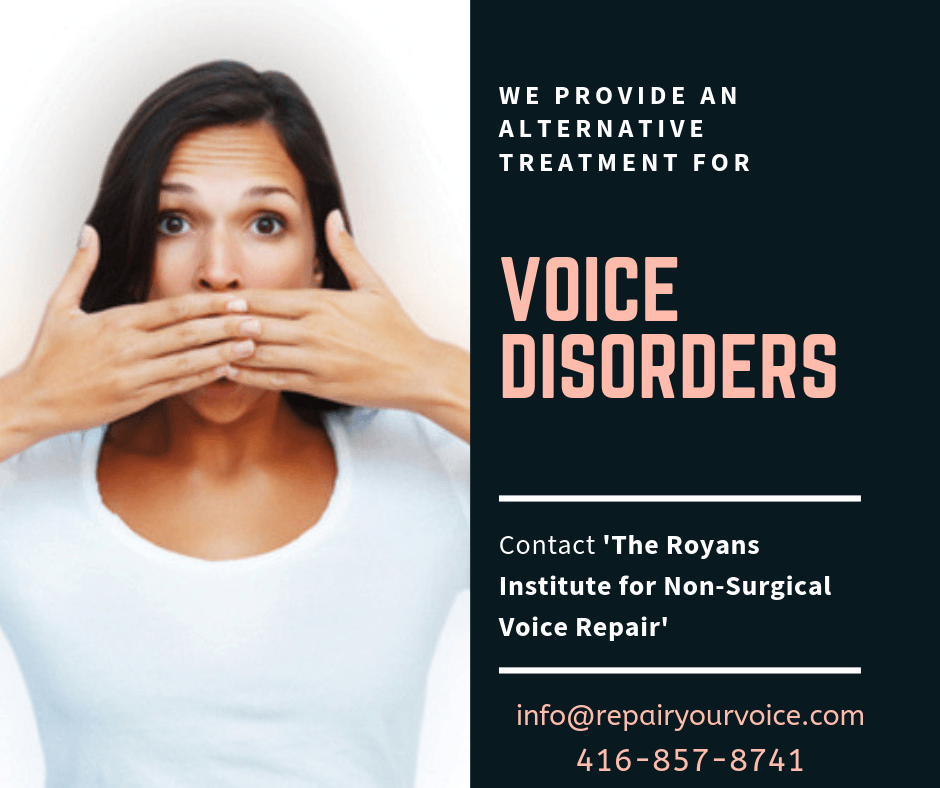 Natural and Alternative Treatment for Voice Disorders 1 - Vocal Science