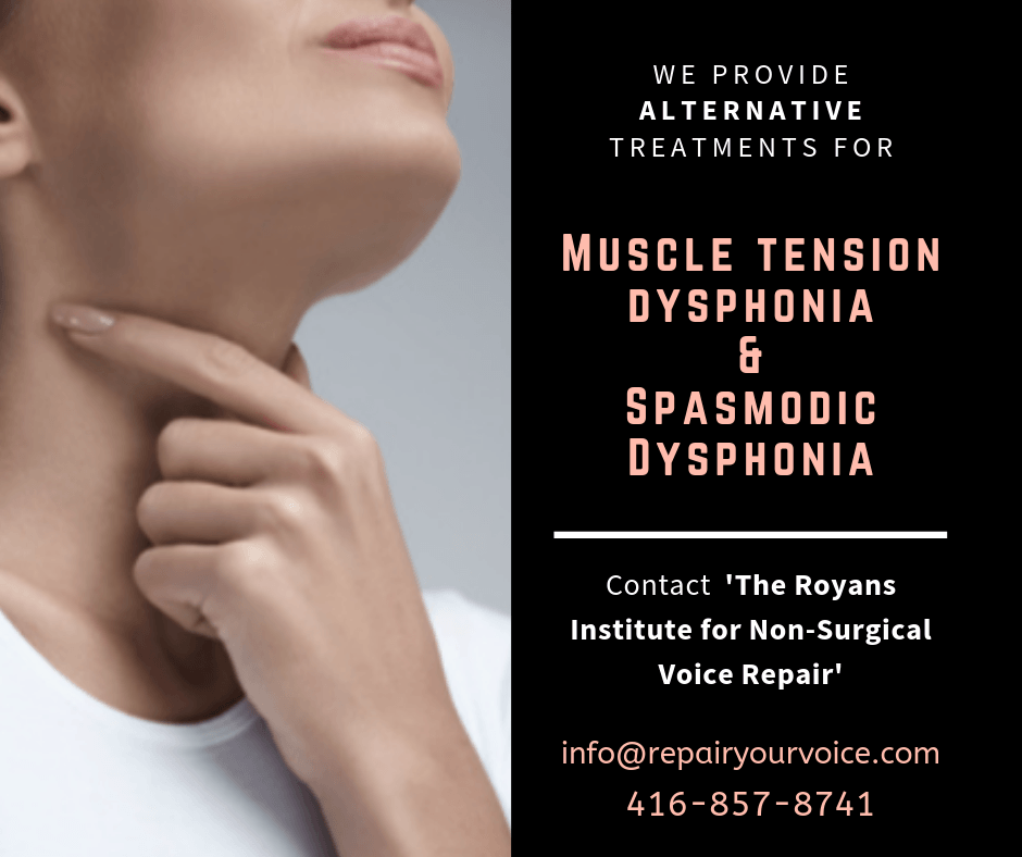 Natural and Alternative Treatment for Spasmodic Dysphonia
