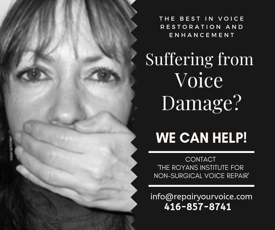 Natural and Alternative Treatment for Voice Damage