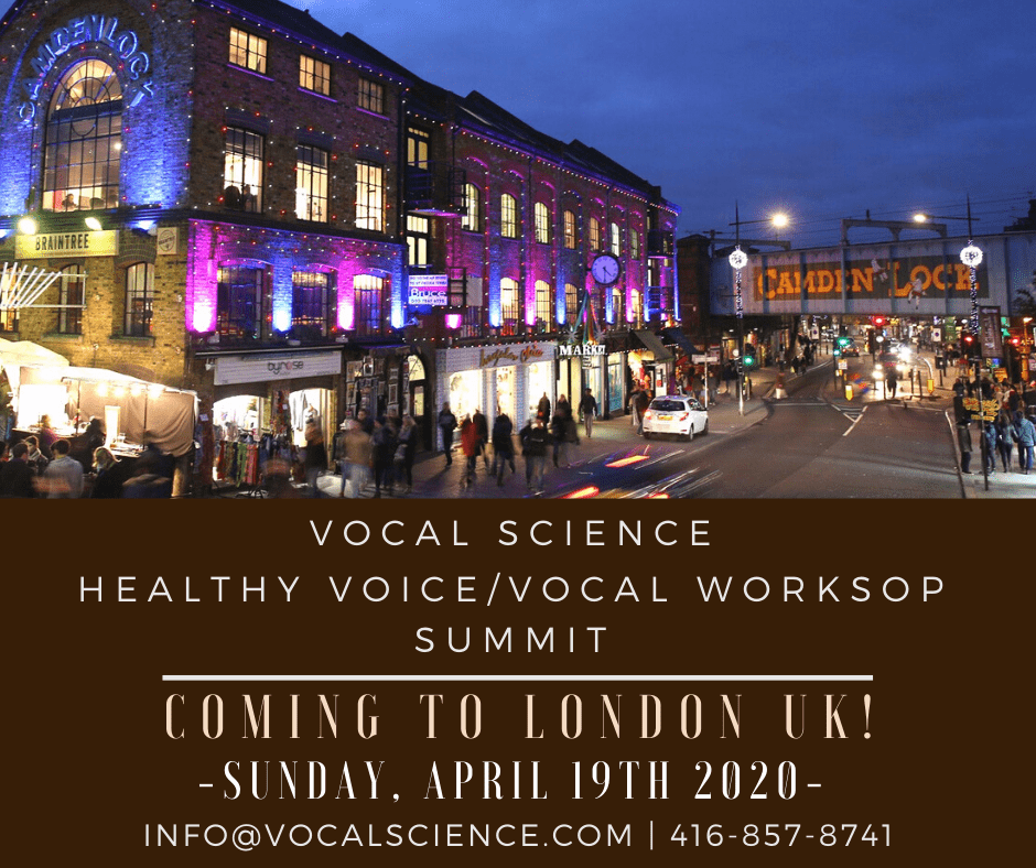 Very Special Workshop in London UK – April 2019!