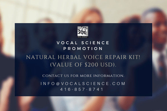 Natural Voice Repair Herbal Kit