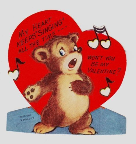 Bear Valentine's Day