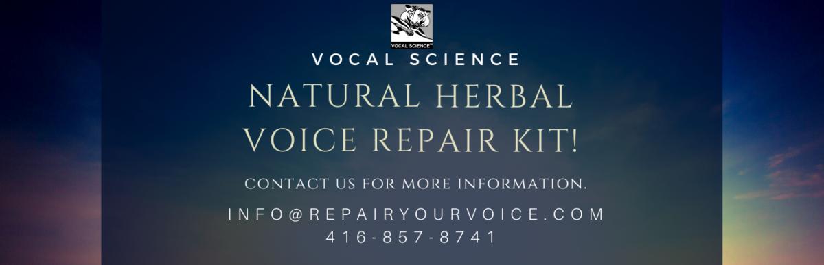 Herbal Repair Kit Banner