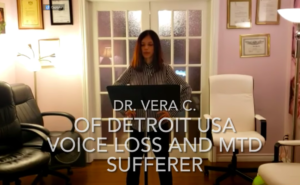Vera C - Voice Recovery video and testimonial